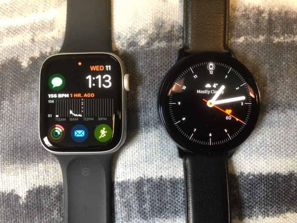 Apple Watch 5 vs. Samsung Galaxy Active2 Smartwatches