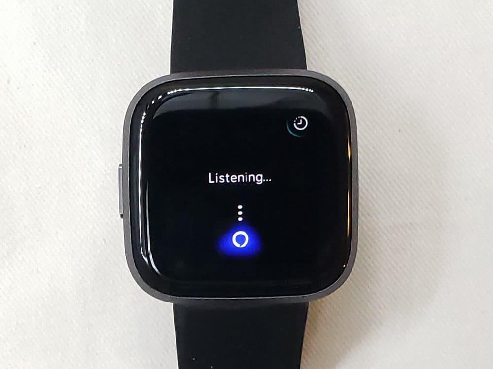 Fitbit Versa 2 Alexa listening