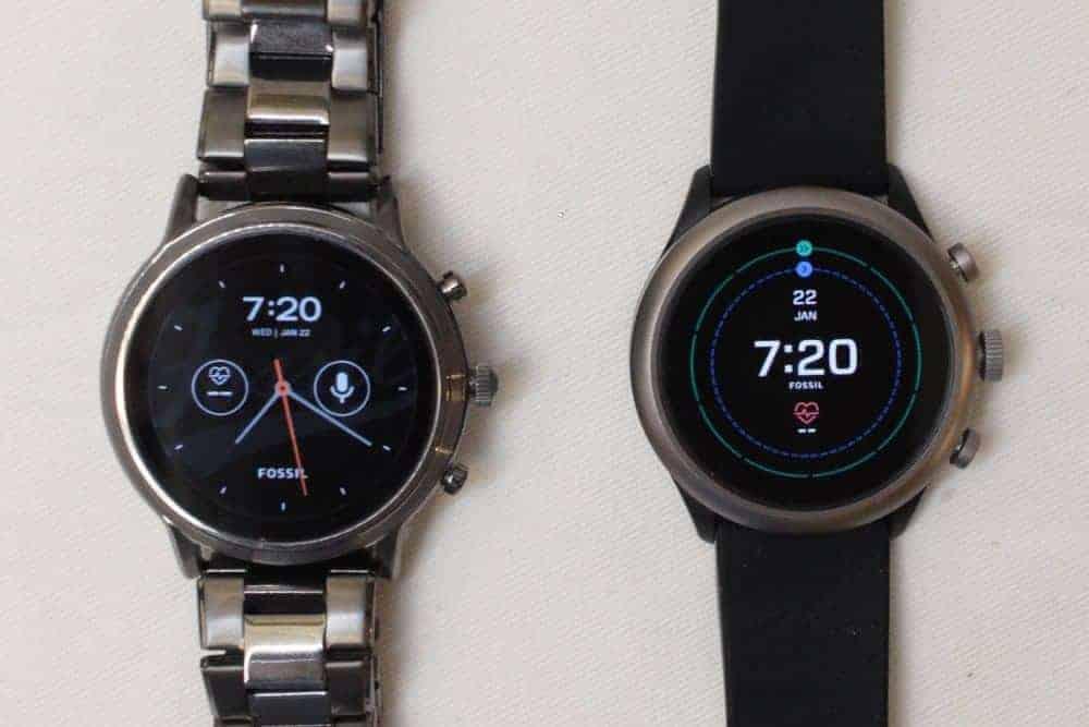 Fossil Gen 5 Carlyle vs. Fossil Sport Smartwatch