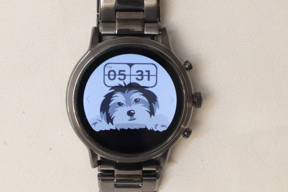 fossil gen 5 carlyle dog watch face