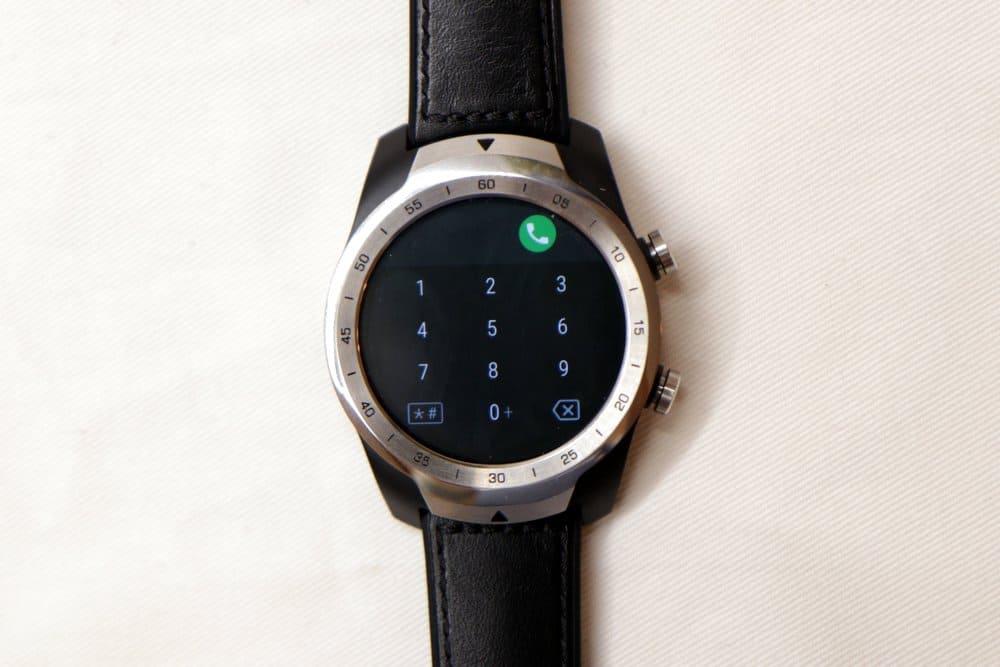 Ticwatch Pro phone app
