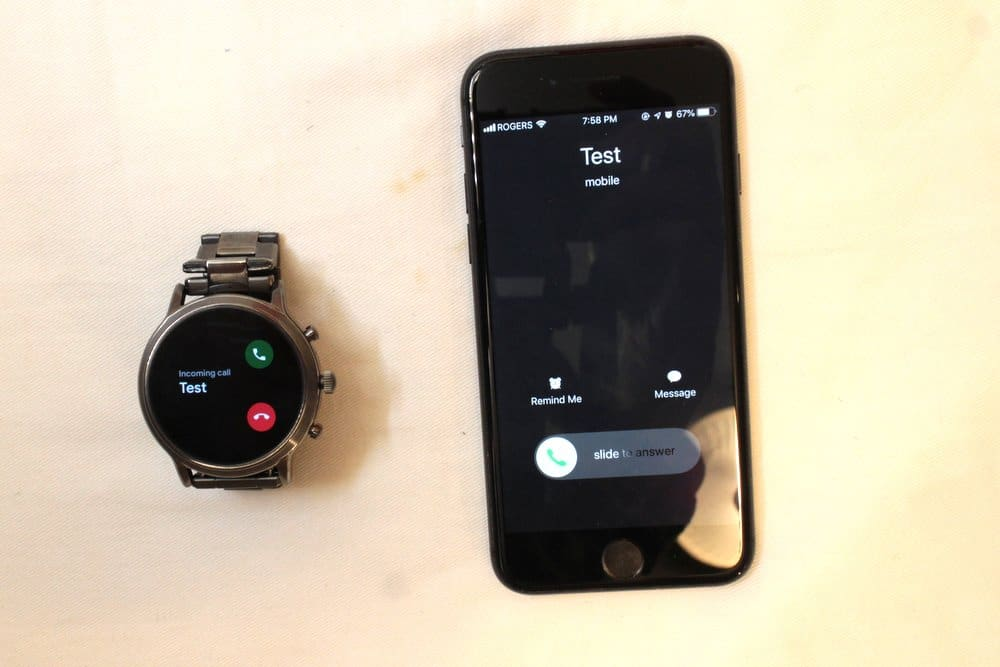 Ticwatch Pro and Fossil Gen 5 Carlyle calls