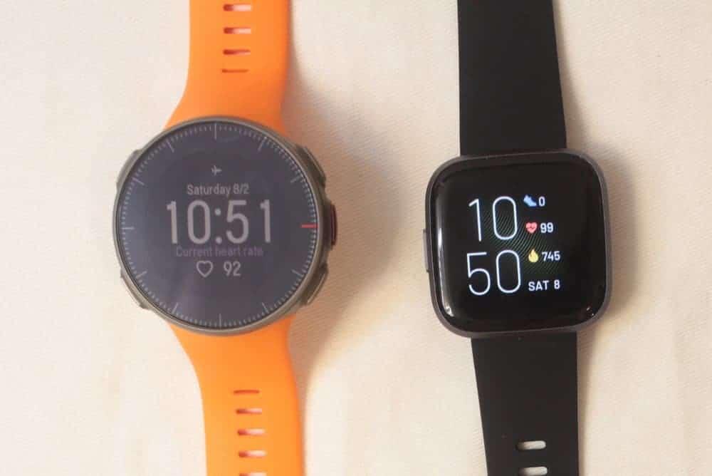 Polar Vantage V vs Fitbit Versa 2