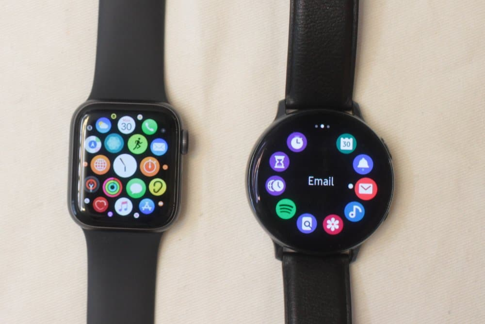 Samsung Galaxy Watch Active 2 Vs Apple Watch Series 5 Brand Name Flagships Threadcurve