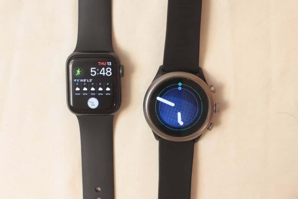 Apple Watch Series 5 vs. Fossil Sport Smartwatch