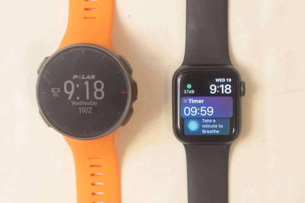 Apple Watch Series 5 vs Polar Vantage V