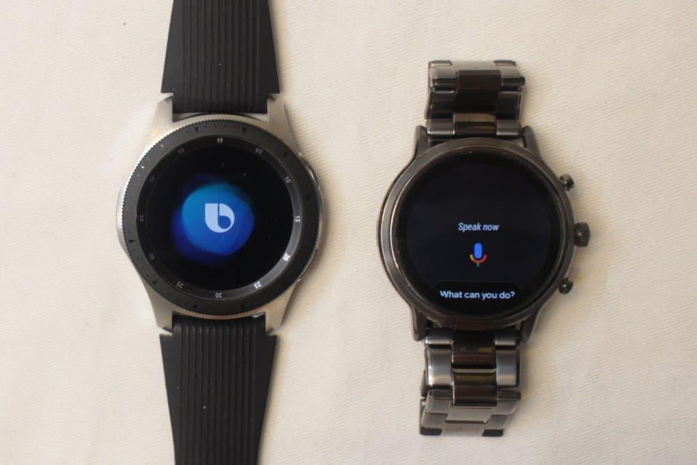 Samsung Galaxy Watch vs Fossil Gen 5 Carlyle Bixby vs Google Assistant