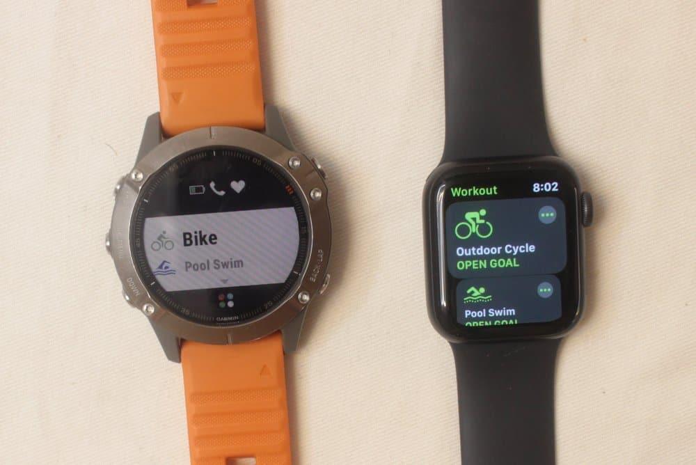 garmin fenix 6 apple watch series 5 workout tracker