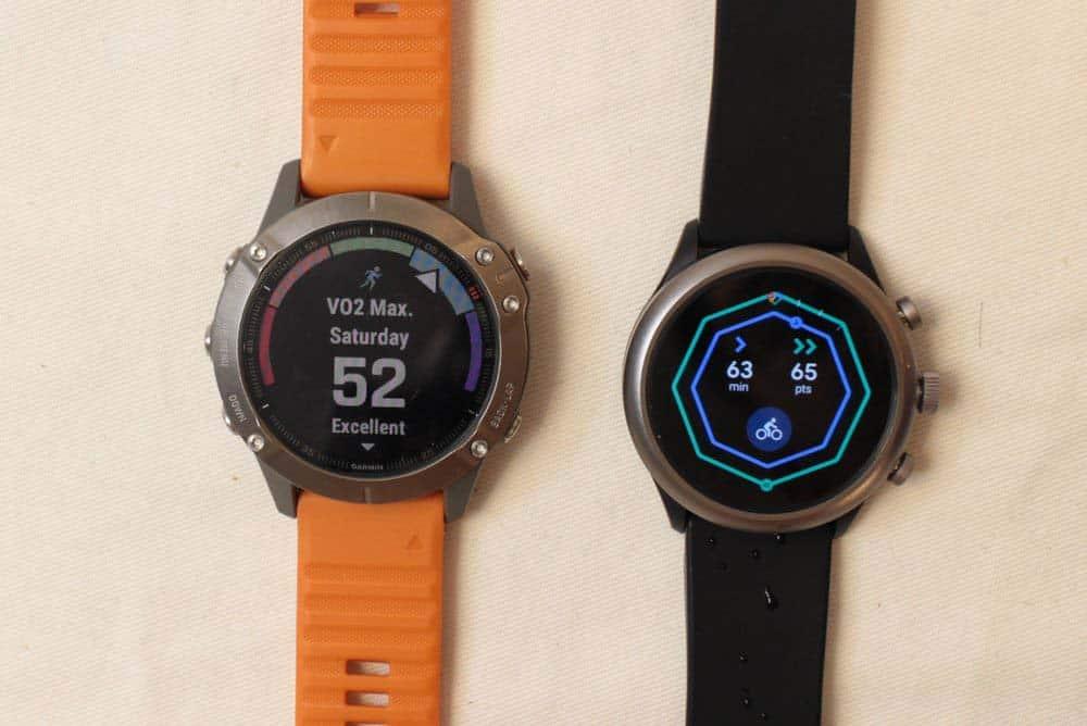 Garmin Fenix 6 vs Fossil Sport Smartwatch extra features for sport