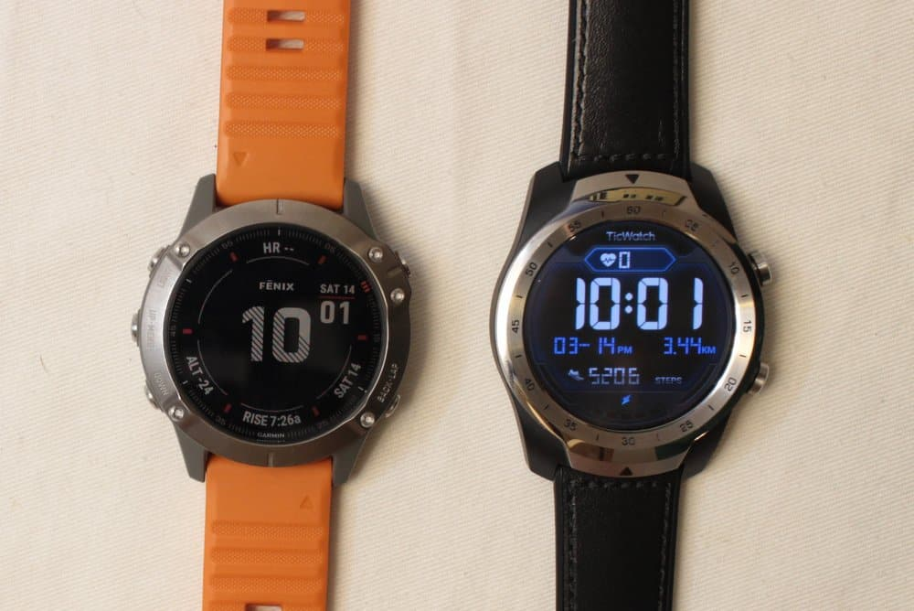 garmin fenix 6 ticwatch watch face