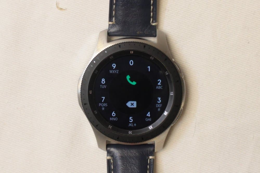 Samsung Galaxy Watch calls