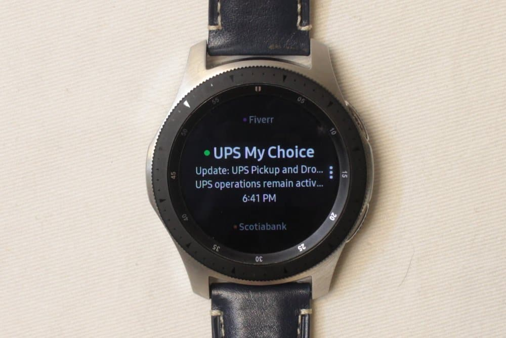 Samsung Galaxy Watch email
