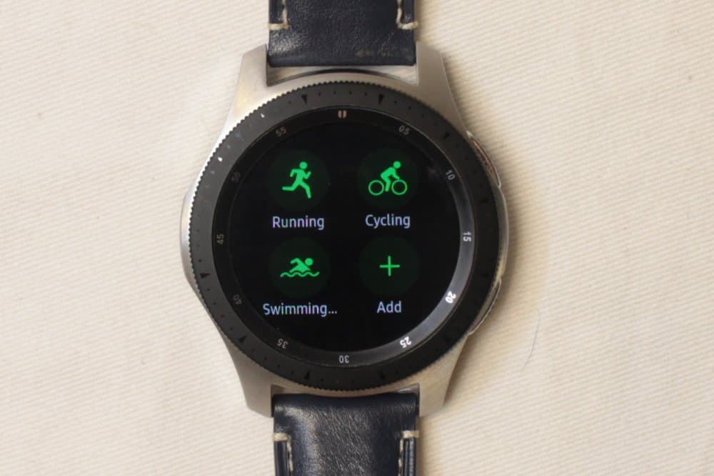 Samsung Galaxy Watch workout