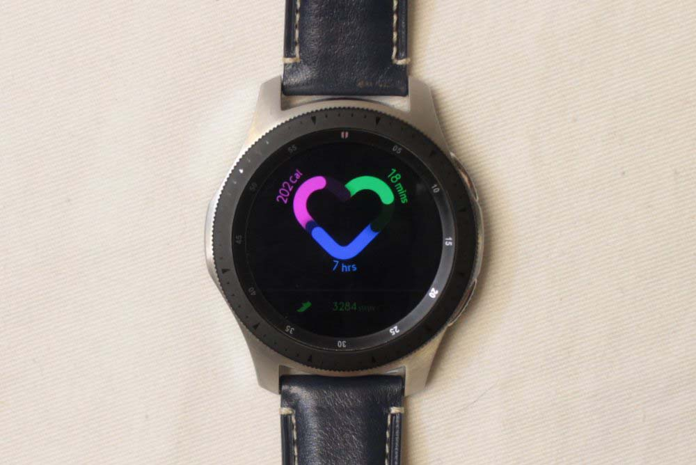 Samsung Galaxy Watch samsung health