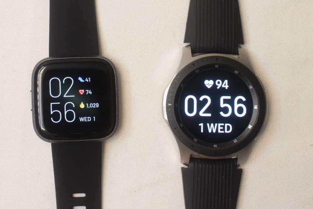 Samsung Galaxy Watch/Active 2 vs Fitbit Versa 2