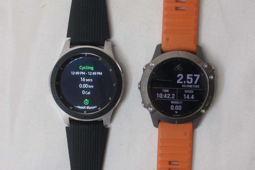 samsung galaxy watch vs garmin fenix 6 overview