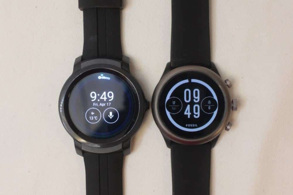 Ticwatch E2 vs Fossil Sport Smartwatch
