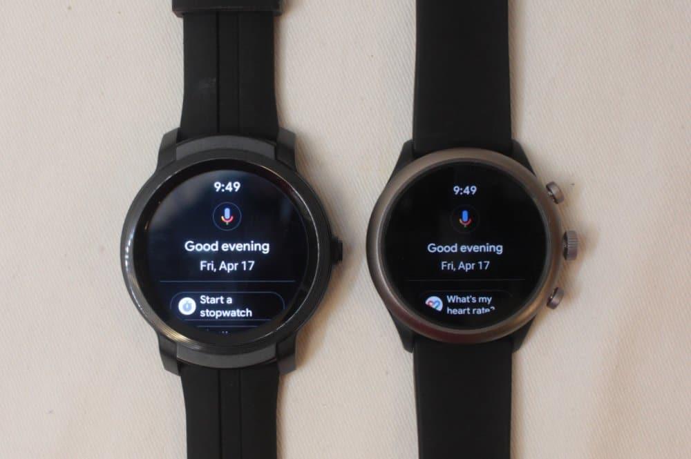 ticwatch e2 fossil sport google assistant