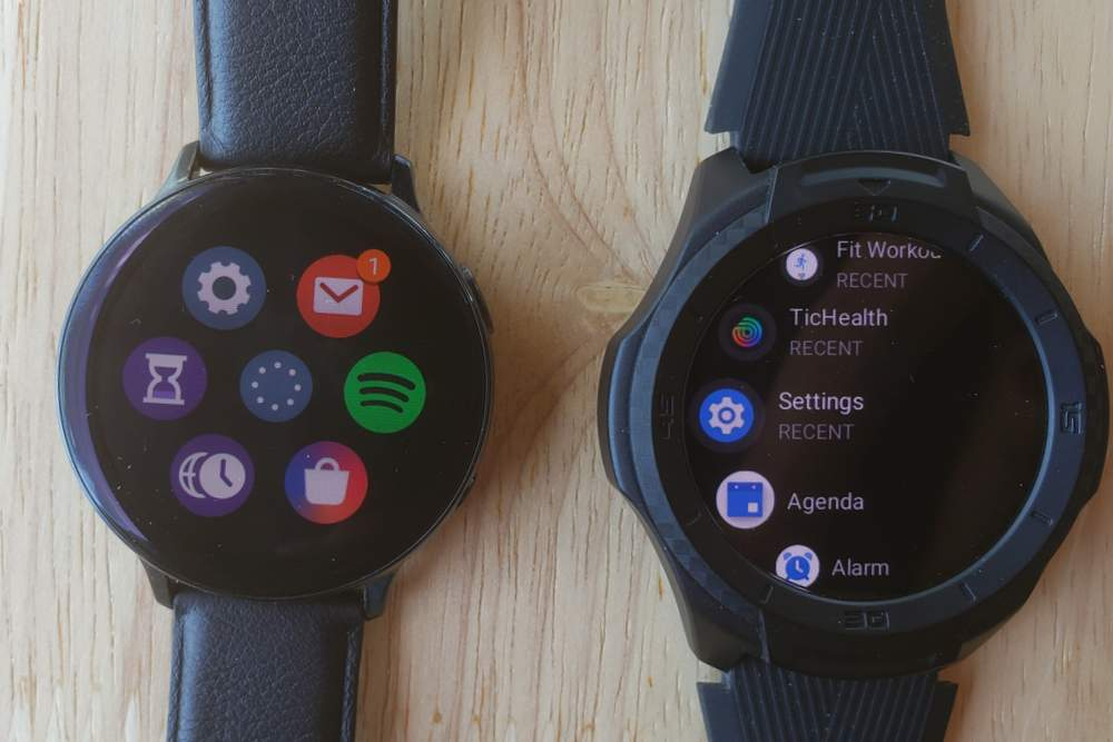 Nothing gives better bang-for-buck than the entry-level Ticwatches and that includes the Ticwatch S2. The Ticwatch S2 is superior to its competitors because it is more durable, has decent battery life and a good number of features. Competing against the Samsung Galaxy Watch/Active 2 also introduces the operating system factor. The Ticwatch S2 uses the ubiquitous Wear OS by Google, whereas the Galaxy Watch uses Samsung's unique Tizen OS. Is the Samsung smartphone-smartwatch combo superior? Wear OS watches like the Ticwatch S2 have positioned themselves as general-purpose watches that can pair and function with any smartwatch out there. Samsung's smartwatches can pair with different smartphones out there, but they really do best with Samsung phones. But would I recommend a Samsung smartwatch to a Samsung smartphone user? Not necessarily… Unlike the Apple Watch Series 5, which is the ONLY smartwatch that provides superior compatibility and integration with the Apple iPhone, pairing a Samsung smartphone with a smartwatch does not provide the same level of superior integration, which is why Wear OS watches provide some serious competition. Messages and emails One area where Samsung's superiority over even the best Wear OS watch out there is its ability to access email and text message logs. That means you can access your messages and emails as if you were on your phone. Personally, I never felt this was very useful. If I wanted to read a message, I would use my phone. Now, you can't do this with a Wear OS watch unless you go through the hassle of installing a bunch of third-party apps. But I never felt that anything was amiss. When it comes to interacting with my messages and emails, I have always accessed them when they came as notifications. You can reply to your messages without taking out your phone by using the speech-to-text system, a keyboard or a pre-composed reply. Wear OS really shows its superiority here. The transcriber is just excellent and cannot be beaten 