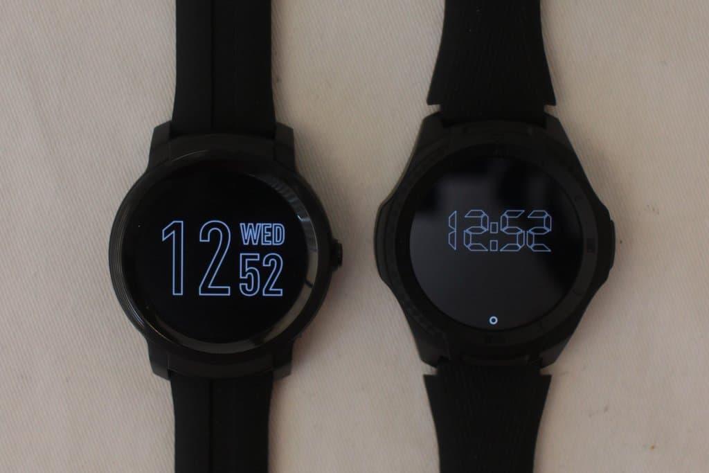 ticwatch e2 vs ticwatch s2 sleep mode