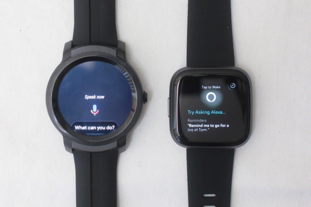C:\Users\Mr.Zeng\Desktop\export\Ticwatch E2 vs Fitbit Versa 2 google assistant alexa