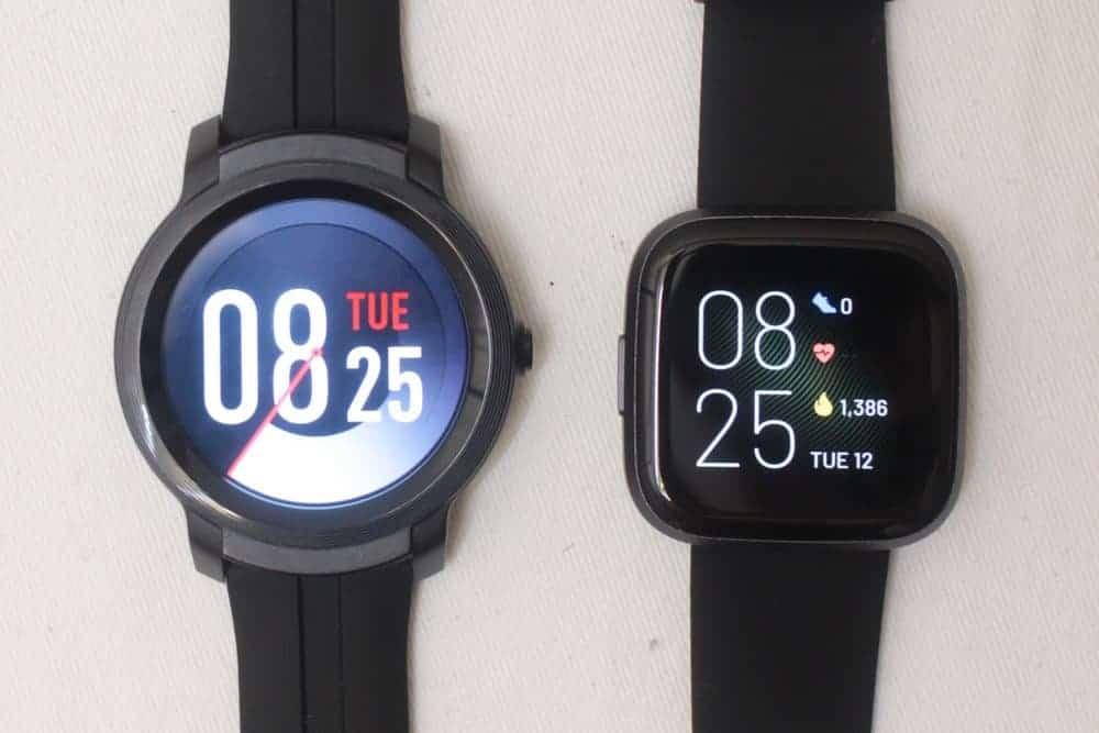 Ticwatch E2 vs Fitbit Versa 2