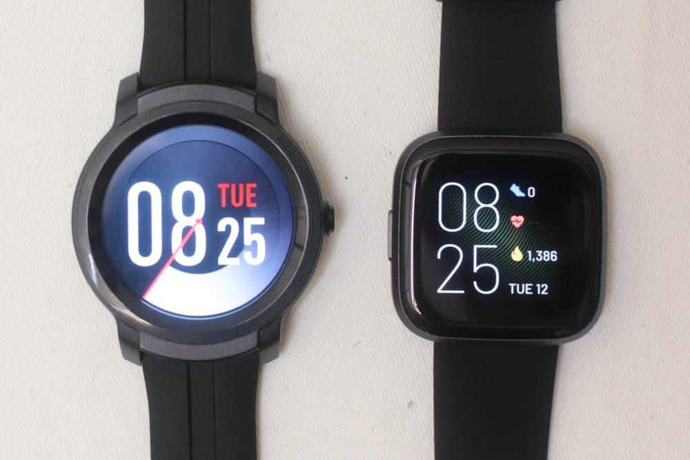 C:\Users\Mr.Zeng\Desktop\export\Ticwatch E2 vs Fitbit Versa 2 main screen