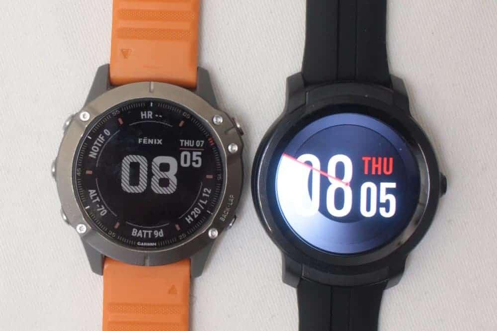 Ticwatch E2 vs Garmin Fenix 6