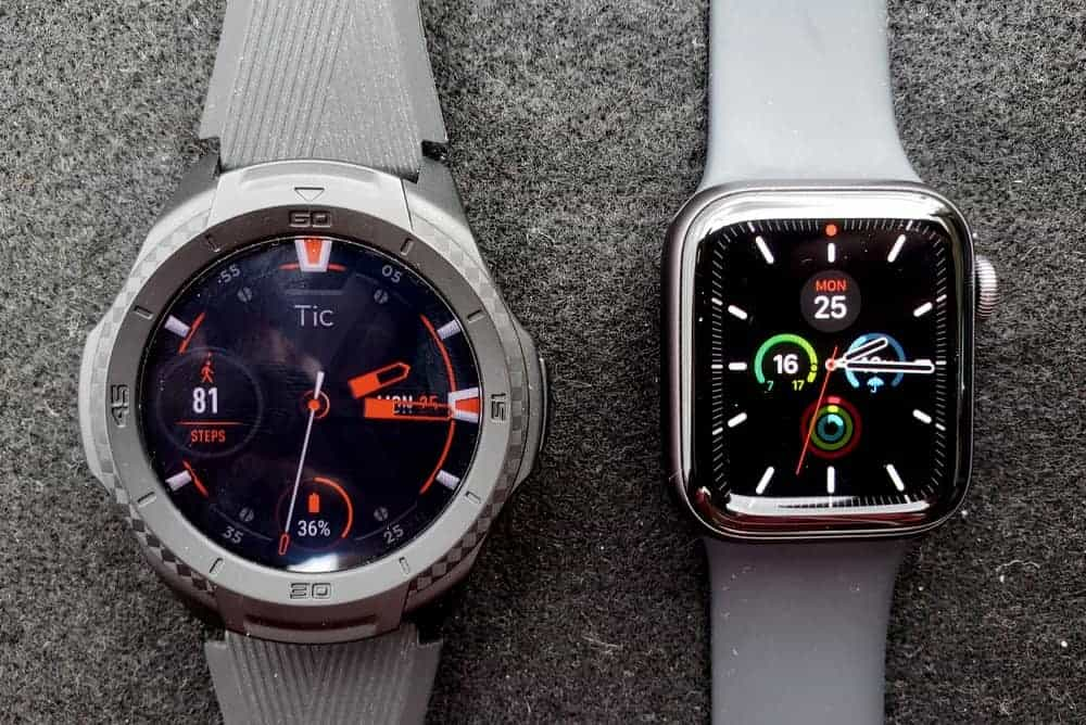 Ticwatch S2 vs Apple Watch Series 5