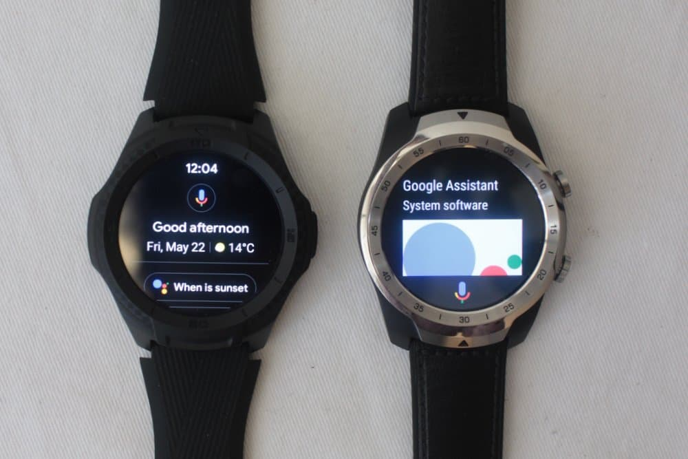 ticwatch s2 vs ticwatch pro google assistant