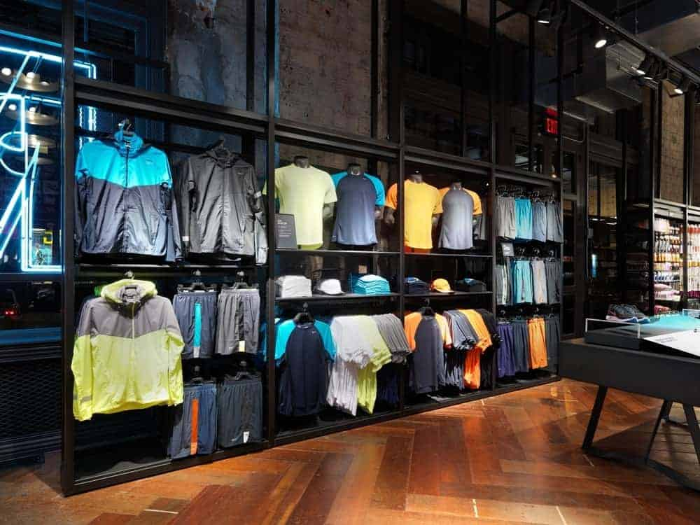 Nike running concept store in NYC.