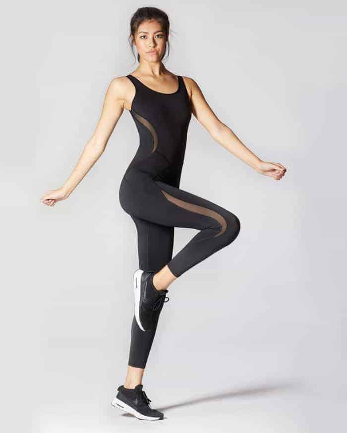 A woman modelling Michi Clothing.
