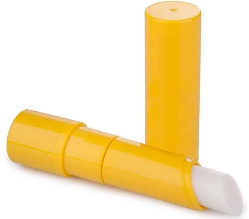 A stick of plain lip balm.