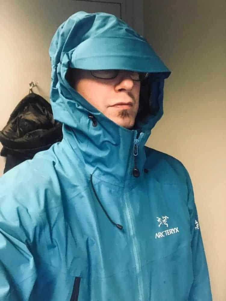Arc'Teryx Beta LT jacket for men.