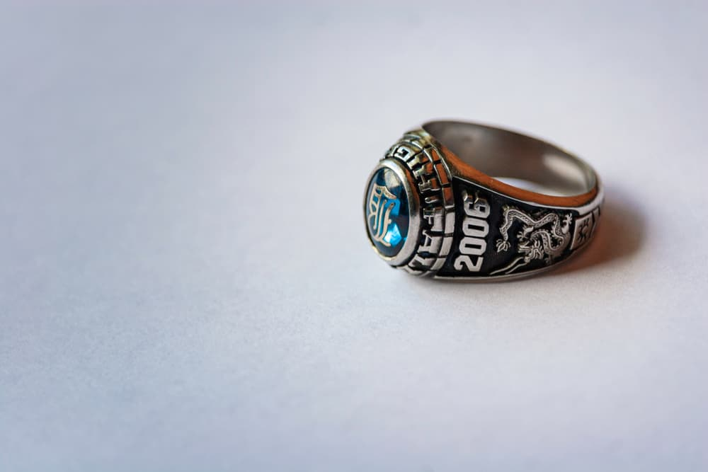 A class ring from 2006.