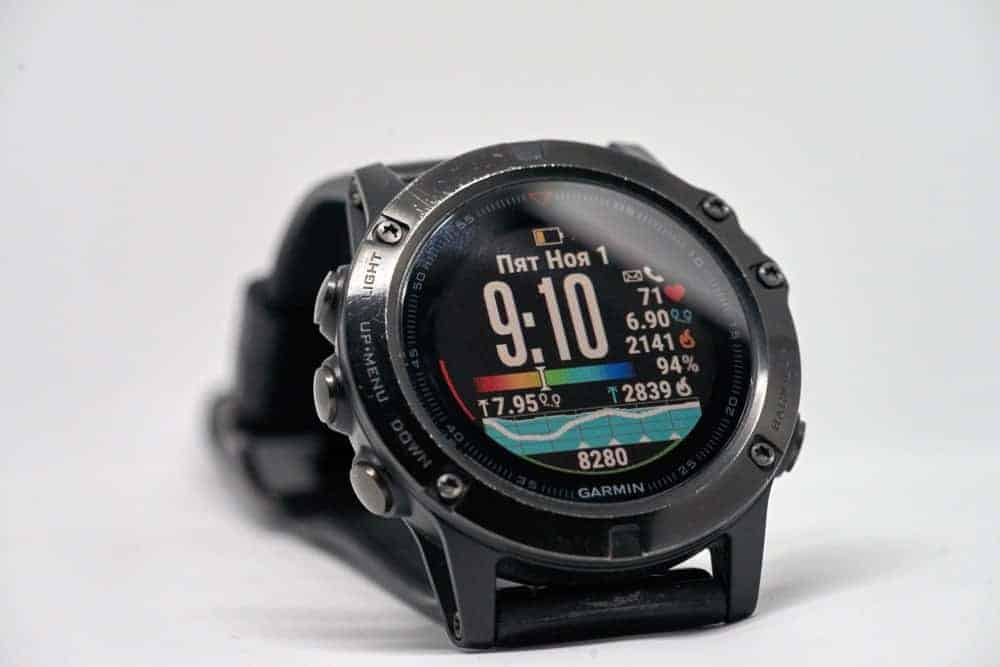 Men's digital watch