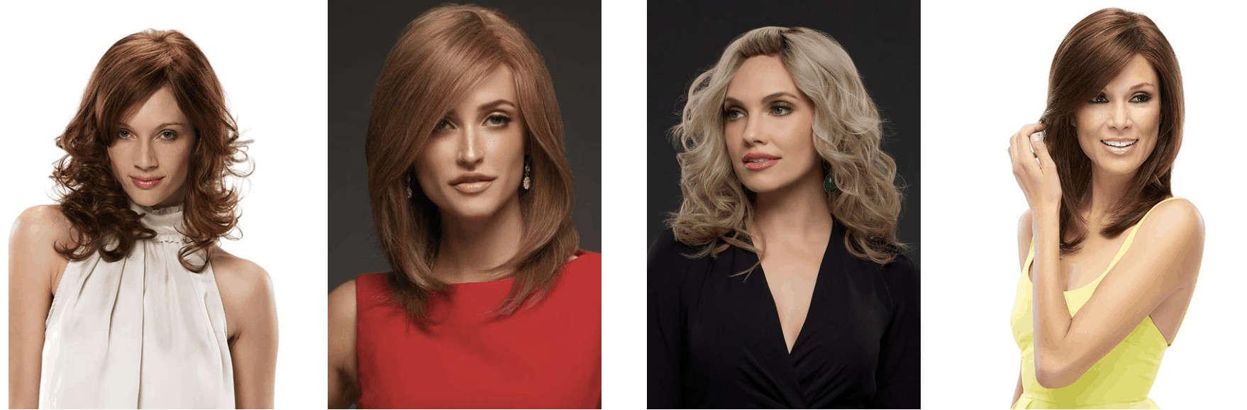 Layered Hair Wig Examples