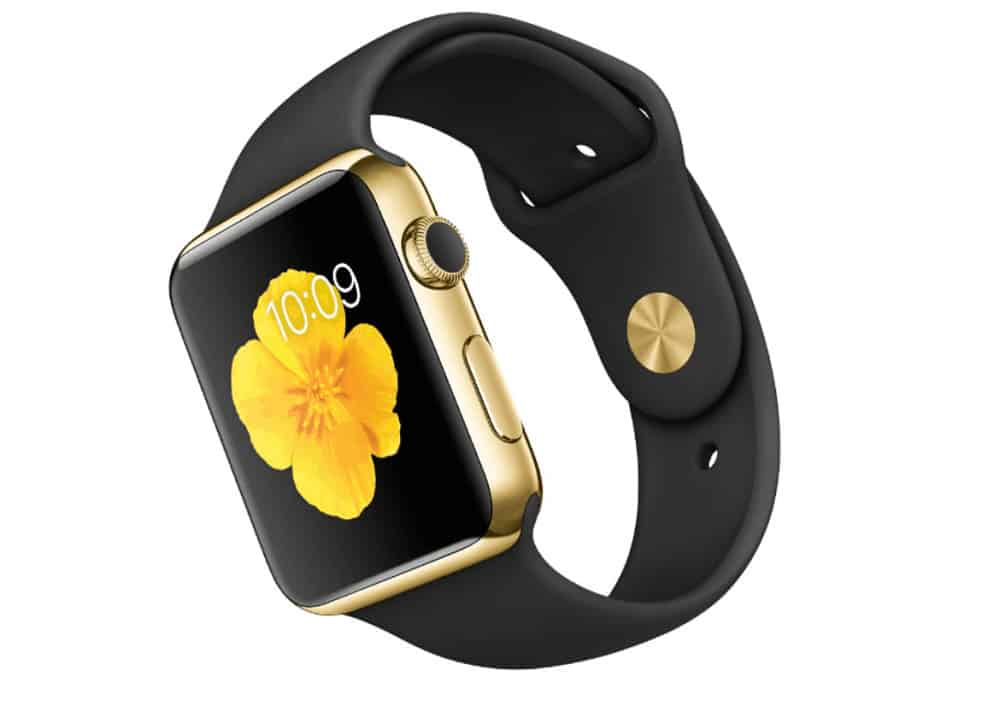 The Gold Apple Watch Edition.