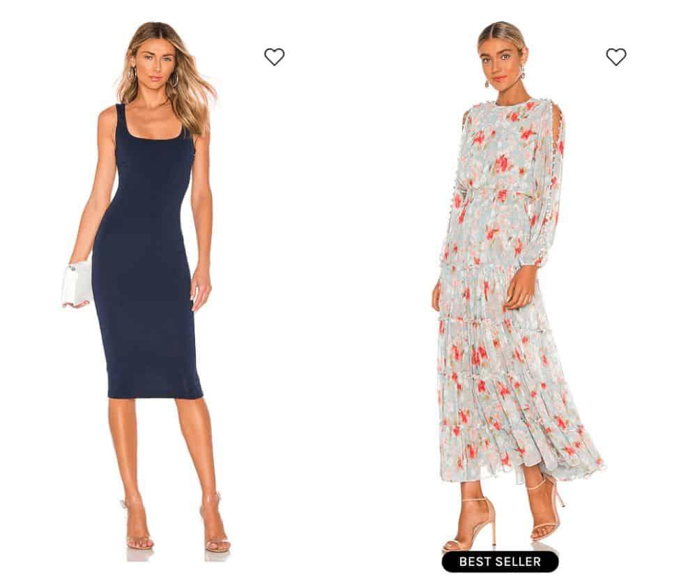 Revolve dresses