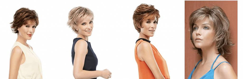 Shag hairstyle wig examples