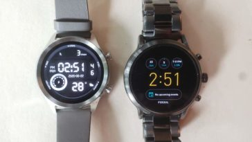 Ticwatch C2 vs Fossil Gen 5 Carlyle