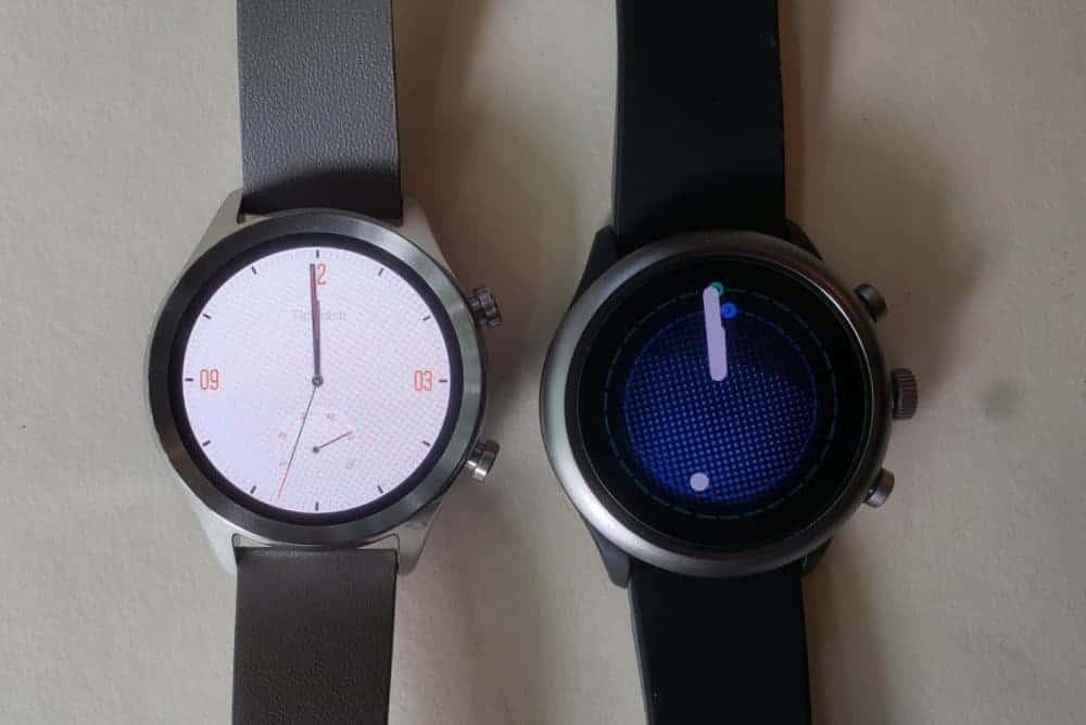 Ticwatch C2 vs Fossil Sport Smartwatch