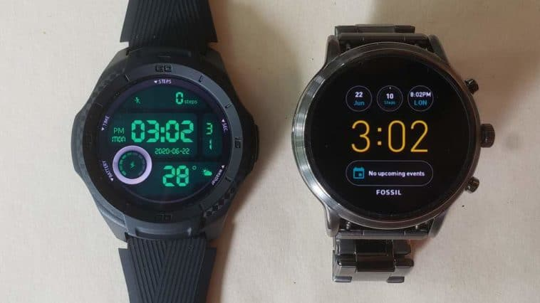 Ticwatch S2 vs Fossil Gen 5 Carlyle