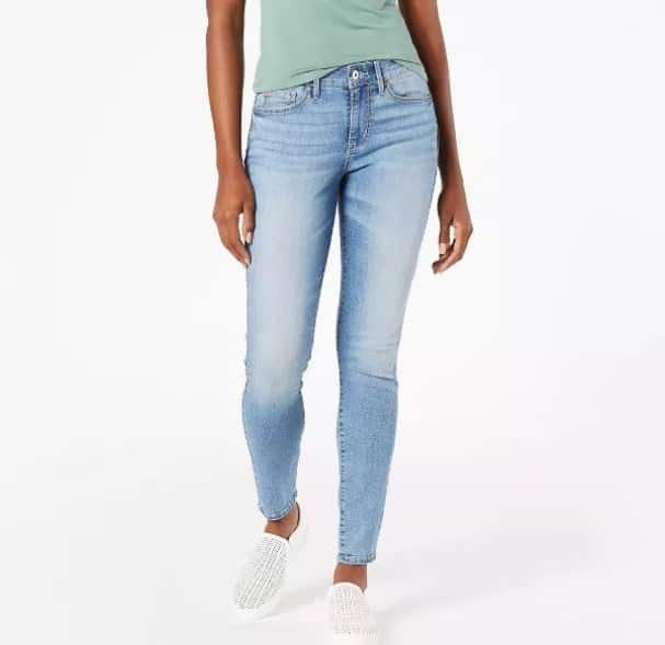 A pair of Denizen Jeans by Levi's.