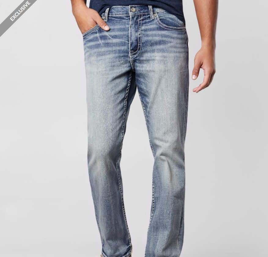A pair of BKE Tyler jeans.