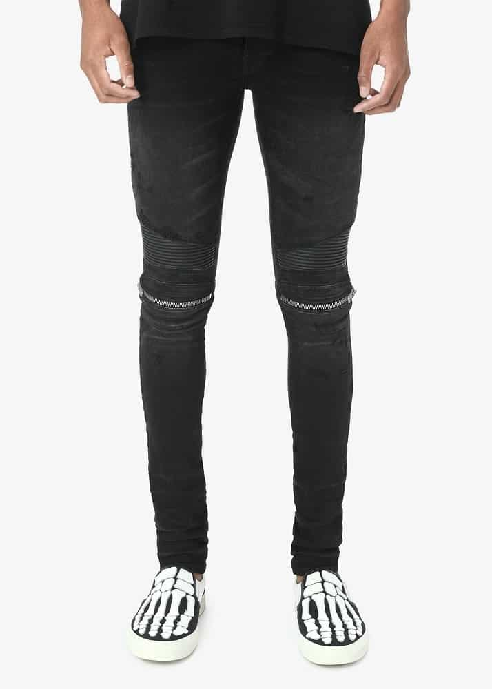 A pair of Amiri MX2 jeans.