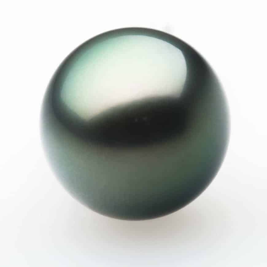 Dark quahog pearl