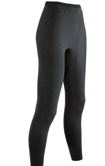 A pair of dark gray polypropylene sweatpants.