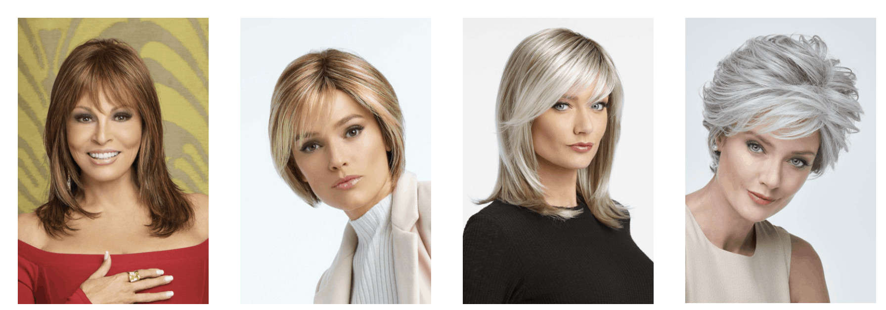 Wigs with bangs