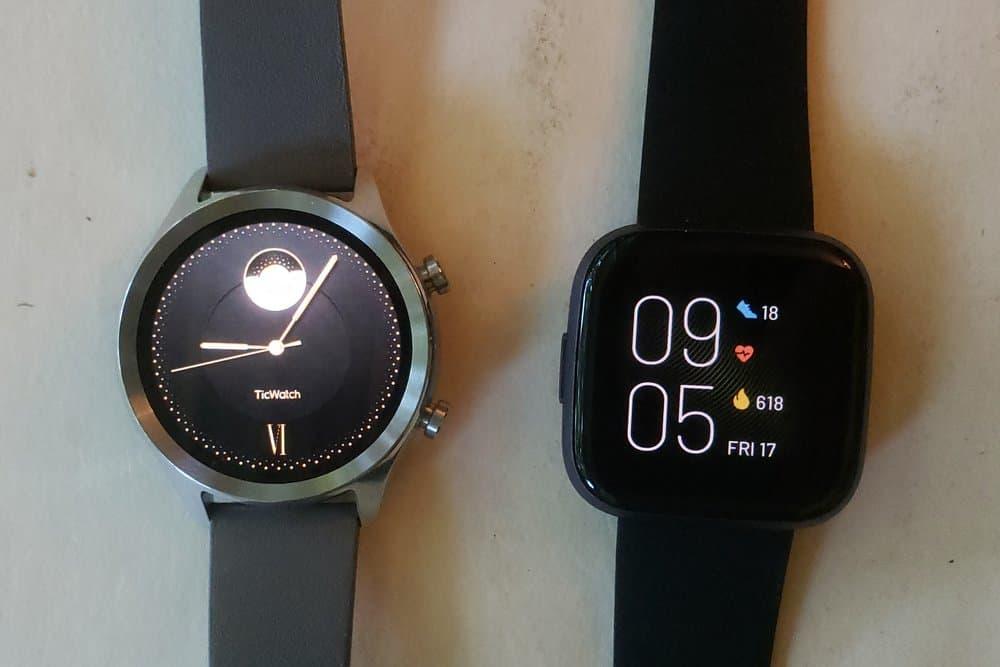 Ticwatch C2 vs Fitbit Versa 2